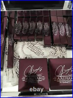 MAC Cosmetics AALIYAH Vault Collector's Makeup Set Kit NIB Receipt