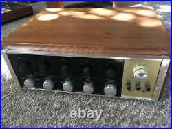MCINTOSH C20 TUBE STEREO PREAMP WORKING XLNT ALL ORIGINAL with Cabinet