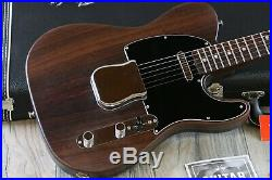 MINTY! 2017 George Harrison Signature Fender Telecaster All Rosewood + COA OHSC