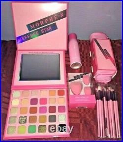 MORPHE X JEFFREE STAR Collection Makeup FULL BUNDLE SET Brush EYESHADOW PALETTE