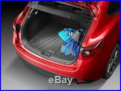 Mazda 3 (5-door) Mazda Cargo Tray with All-Weather Floor Mats 2014-2018