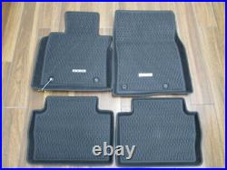 Mazda CX-30 All Weather Floor Mats High Wall Mats with Rear Cargo tray