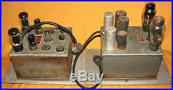 McIntosh 50-W-2 Tube Amp + P-50-D Power Supply from 1950s All Original Rare