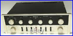McIntosh C11 Tube Preamplifier All Original With 6 Telefunken ECC83/12AX7 Tubes
