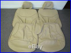 Mercedes Benz Seat Covers W140 S320, S420, S500,300se, S600 Leather All Oem Colors