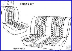 Mercedes W108 Front & Rear Seat Covers 250s, 250se, 280sel 65-73 Leather All Oem