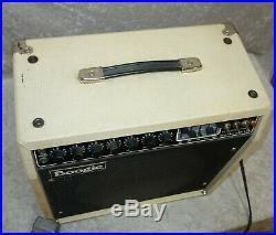 Mesa Boogie Studio Series 1x12 all tube combo amp in white/cream Tolex