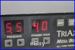 Mesa Boogie Triaxis All Tube Midi Programmable Guitar Preamp