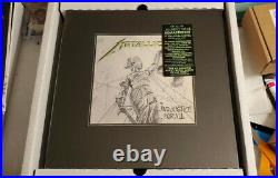 Metallica And Justice for All 2018 Box Set Sealed deluxe box vinyl new sealed
