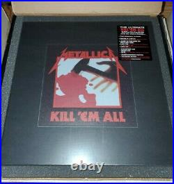 Metallica KILL'EM ALL 2016 Deluxe Box Set (4LP/5CD/DVD) NEW + SEALED