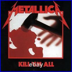 Metallica Kill'em All (ltd Remastered Deluxe Boxset) 5 Cd+4 Vinyl+dvd New+