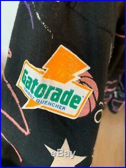 Michael jordan Gatorade All Over Print Like Mike Vintage 90s T-shirt XL