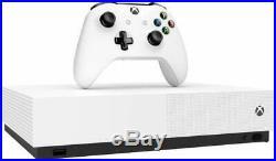 Microsoft Xbox One S 1TB All Digital Edition V2 1TB White Console
