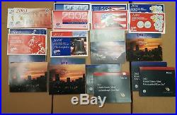 Mint Sets from 1959-2016, Original Government Issue, All 56 sets