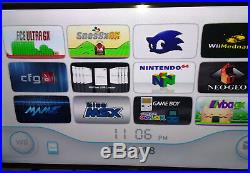 Modded Nintendo Wii 10,000+Games One-For-All Console Japnese Games Inculded