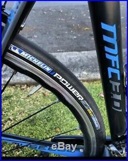 Museeuw 3.0 carbon road bike 54cm, All Sram Red 11spd, Very Lite
