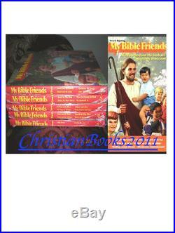 My Bible Friends 5 volume Set Books & Audio CDs of all 5 books by Etta Degering