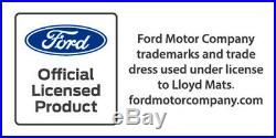 NEW! 1984-1986 Ford Mustang SVO Smoke Grey Floor Mats With Embroidered Logo All
