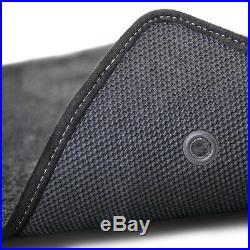 NEW 2002-2006 Trailblazer Floor Mats Black Carpet Embroidered SS Logo Silver all