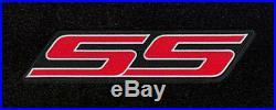NEW! 2007-2009 Trailblazer Floor Mats Black Carpet Embroidered SS Logo Red all 3