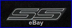 NEW! 2007-2009 Trailblazer Floor Mats Black Carpet Embroidered SS Logo on all 3