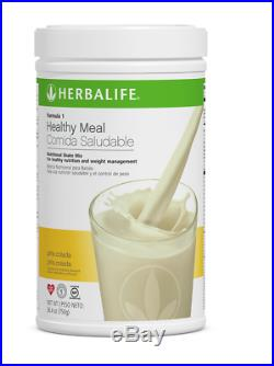 NEW 4X Herbalife Formula 1 Healthy Meal Nutritional Shake Mix- ALL FLAVORS! US