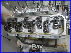 NEW 500 Chevy BBC 8-71 blower aluminum heads roller all new complete withcarbs
