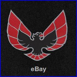 NEW! BLACK FLOOR MATS 1970-1981 PONTIAC FIREBIRD Embroidered Logo Set ALL 4