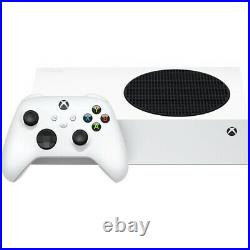 NEW Microsoft Xbox Series S 512 GB All-Digital Console Disc-free Gaming White