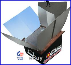 New All American Sun Oven- The Ultimate Solar Cooking Appliance