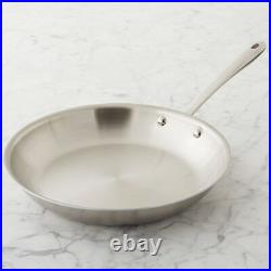 New All-Clad TK d5 Brushed Stainless-Steel 8 Fry Pan