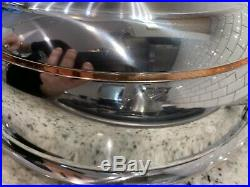 New Display! All-Clad Copper Core 4 Qt Essential Pan Pot With Lid. Made In USA