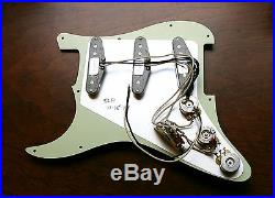 New Fender Loaded Strat Pickguard Custom Shop Abby 69 All Aged Cream Made in USA