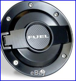New! Gas Fuel Door Assembly All Black FITS 2008 2013 Dodge Challenger