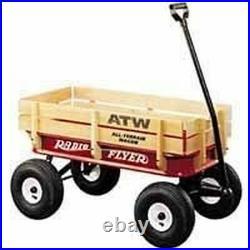 New In Box Radio Flyer #32 Atw All-terrain Good Tires Steel & Wood Sale