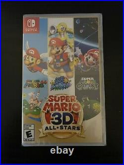 Nintendo Switch Super Mario 3D All-Stars New & Sealed Delisted