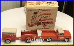 Nylint U-Haul Truck & Rental Fleet No. 4300 All Original Made In USA