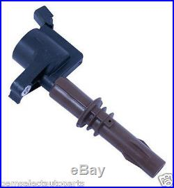 OEM NEW Genuine Ford Ignition Coil 4.6L, 5.4L 3V Brown Boot FULL SET ALL 8 EIGHT