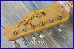 One Owner! Vintage 1957 Fender Esquire Blonce All Origanal + OHSC CLEAN