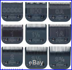 Oster Titan / 76 Black Diamox Detachable Clipper Replacement Blade ALL 9 BLADES