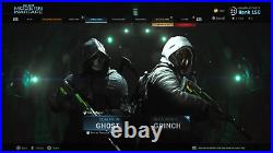 PS/XB/PC Call of Duty Warzone Unlock All Service Camos, Tracers, Blue Dot