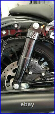P-49 American Suspension Air Ride Suspension Rear Shocks Only Harley Touring All