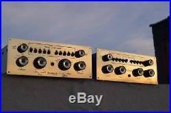 Pair McIntosh C8S C8 Tube PreAmp All Original (C4, C11, C20 & C22 era)