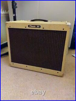 Peavey Classic 30 all-valve tweed guitar amplifier, made In USA