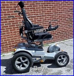 Permobil TRAX all-terrain, off-road power wheelchair, heavy-duty like F5 X850