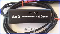 ProCo AoD Dante-audio to Analog Audio Adapter Ships FREE to ALL USPS Zip Codes