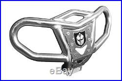 Pro Armor Bully Up Front Bumper Brushed Yamaha Raptor 700 All Years Y063067