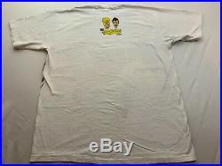 Rare 1993 Beavis & Butthead T-Shirt XL Vintage 90s Single Stitch All Sport