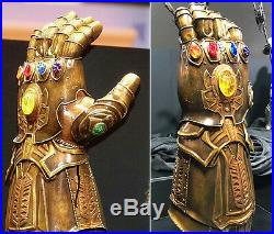 Raw Jagged Infinity Stones Thanos Cosplay Avengers (costume gauntlet gems war)