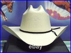 Resistol 100x All Around Shantung Panama Straw Cowboy Western Hat